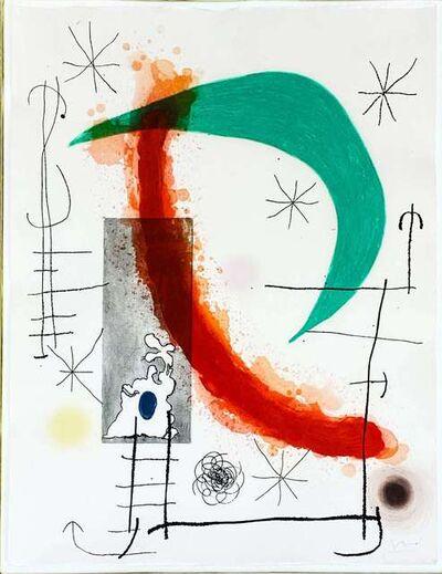 Joan Miró, 'L'Escalade', 1969