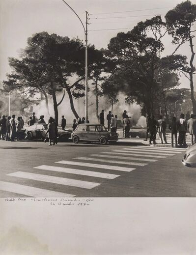 Michele Zaza, 'Simulazione d'incendio', 1970