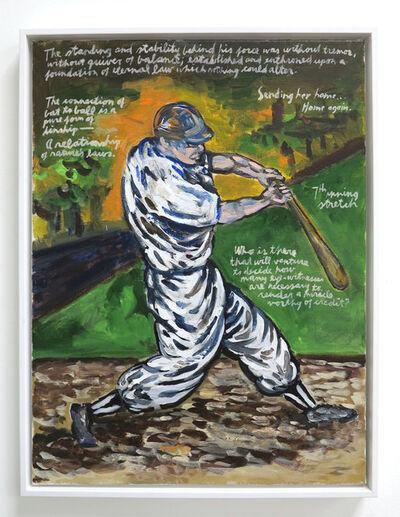 Raymond Pettibon, 'No Title (7th inning stretch)', 1996