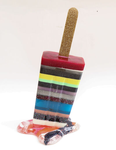 Betsy Enzensberger, 'Multi Stripe Popsicle', 2019