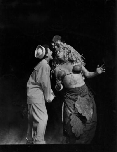 W. Eugene Smith, 'South Pacific musical, Mary Martin and Myron McCormick', 1949