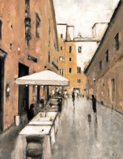 Geoffrey Johnson, 'Street in Rome', 2019