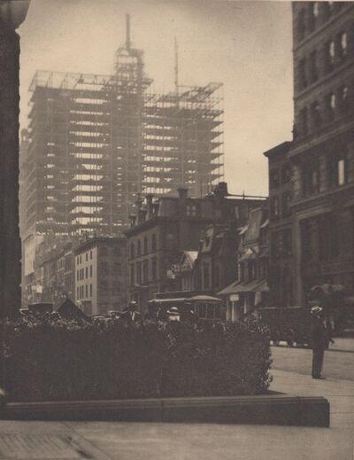 Alfred Stieglitz, 'Old and New New York (1910)', 1911