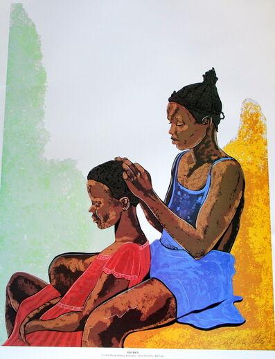 William 'Bill' Crite, 'Sisters', 1994