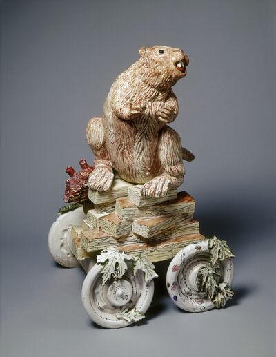 Viola Frey, 'Non-Endangered Beaver', 1973