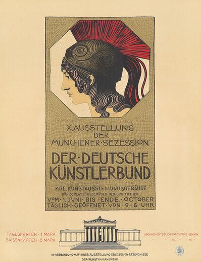 Franz von Stuck, 'Muenchen 1905 / Kunstausstellung', 1905