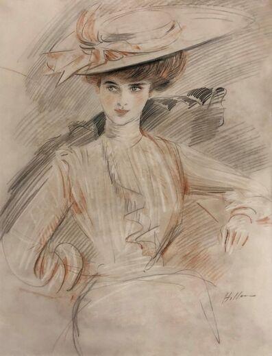 Paul César Helleu, 'Femme au Chapeau', ca. 1900