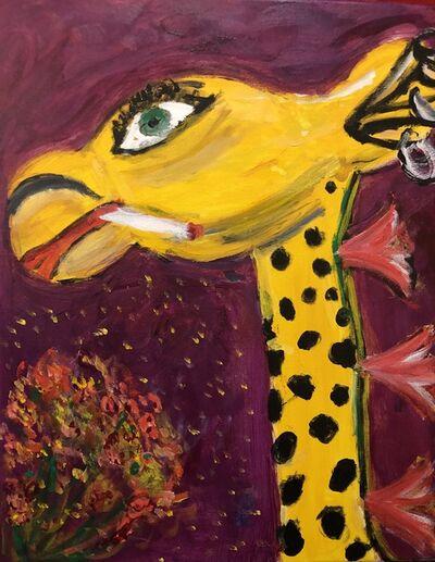 Marjorie Magid, 'Smoking Giraffe', 2019