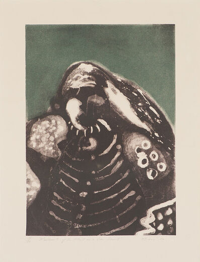Earl Biss, 'Portrait of the Artist as a Crow Scout', 1976