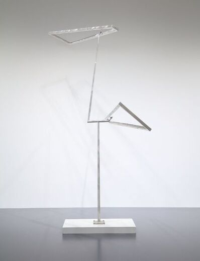 George Rickey, 'Open Trapezoids Excentric One Up One Down V', 1986