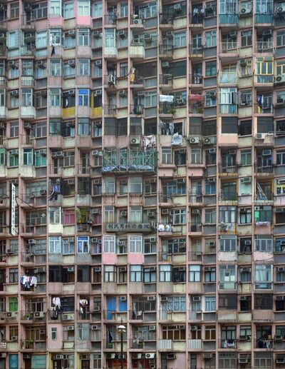 Michael Wolf (b. 1954), 'Architecture of Density, Scout Shots #61', 2005-2012