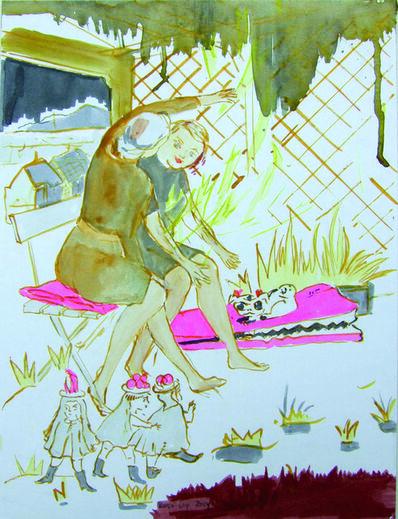 Rosa Loy, 'Visite', 2014