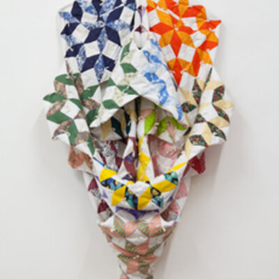 Christy Gast, 'Study #3 for an Endless Love (Origami Quilt)', 2012