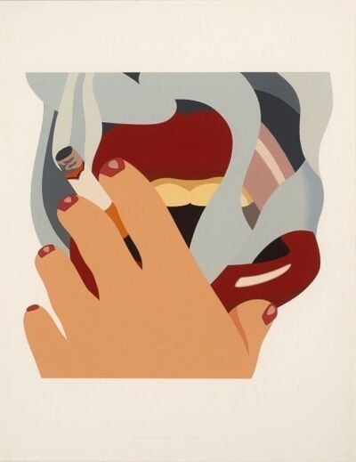 Tom Wesselmann, 'Smoker, (from An American Portrait)', 1976