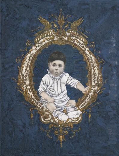 Yang Jiechang 杨诘苍, 'Hitler as Baby(Garl and Series)', 2004