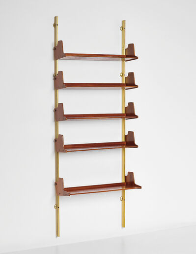 Osvaldo Borsani, 'Wall-mounted modular bookcase, model no. E60', designed 1946