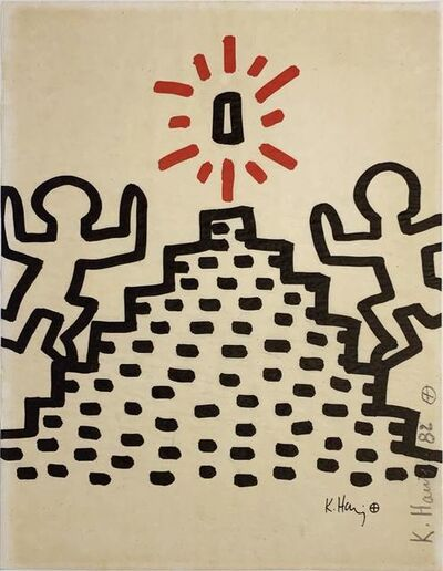 Keith Haring, 'Bayer Suite #2', 1982