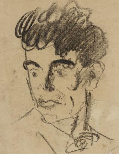 Emil Orlik, 'Head of a Man II', n.d.