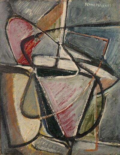 Serge Poliakoff, 'Composition abstraite', 1947-48