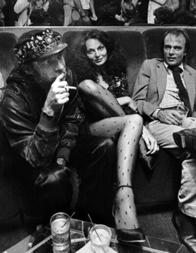 Ron Galella, 'Ara Gallant and Diane von Furstenberg, 1978  '
