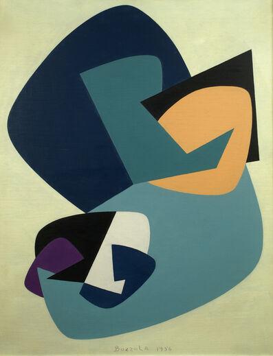 Angelo Bozzola, 'Funzione concreta n.13A', 1956