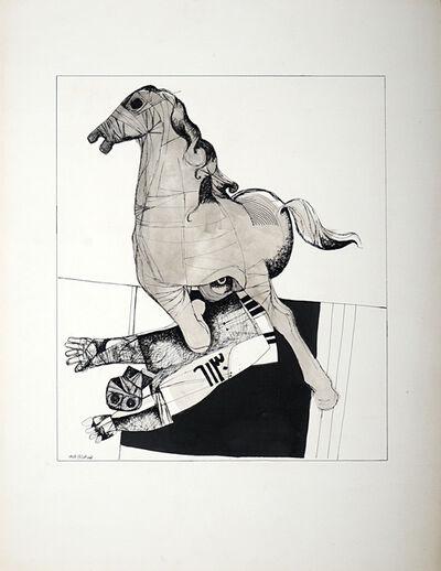 Dia Azzawi, 'Untitled I', 1974