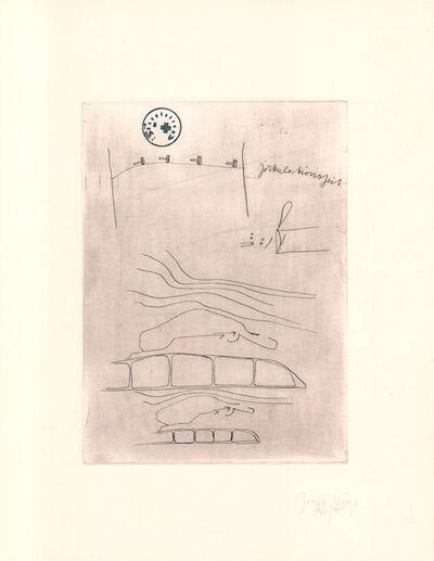 Joseph Beuys, 'Zirkulationszeit: Zirkulationszeit', 1980-1990