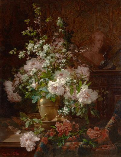 Eugène Petit, 'Fleurs de Printemps', 1869