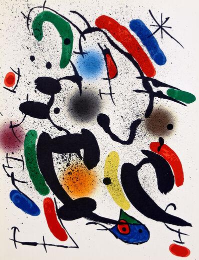 Joan Miró, 'Lithograph VI', 1972