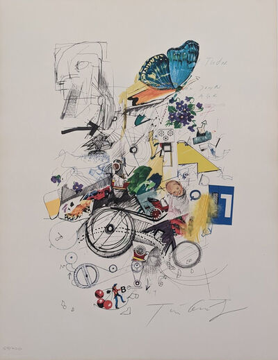 Jean Tinguely, 'Untitled collage', N/A