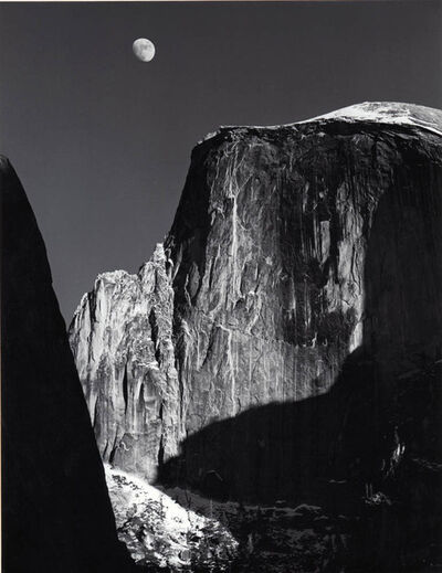 Ansel Adams, 'Moon and Half Dome'
