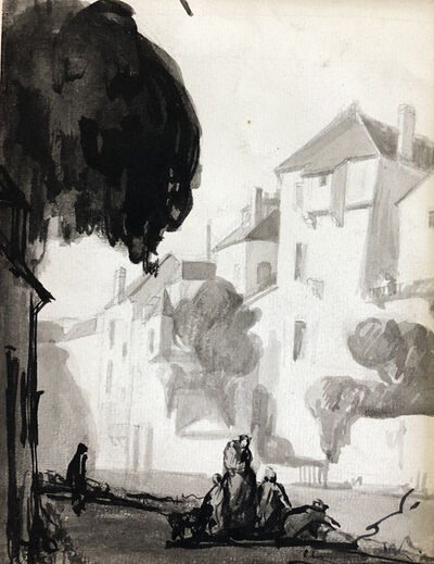 Achille Emile Othon Friesz, 'Village', 19th Century