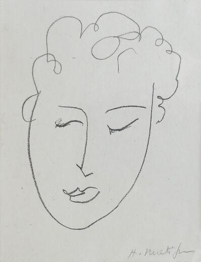 Henri Matisse, 'Visage de Jeune Fille', 1948