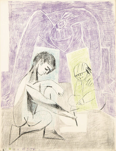 Pablo Picasso, 'The Little Artist', 1954