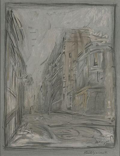 Alberto Giacometti, 'Rue D'Alesia', 1954