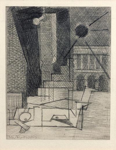 Louis Marcoussis, 'Place de la Concorde (Étude pour Aurélia)', 1930