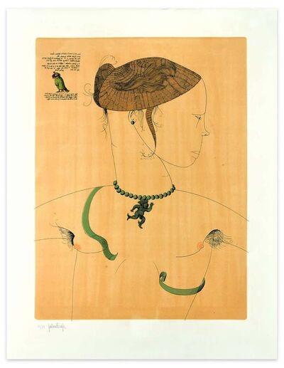 Gaetano Pompa, 'Dorothea and the Serpent', 1963