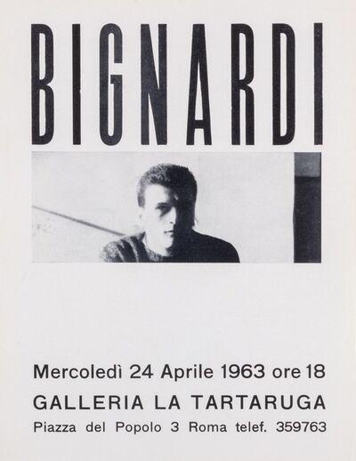 Umberto Bignardi, 'Bignardi', 1963