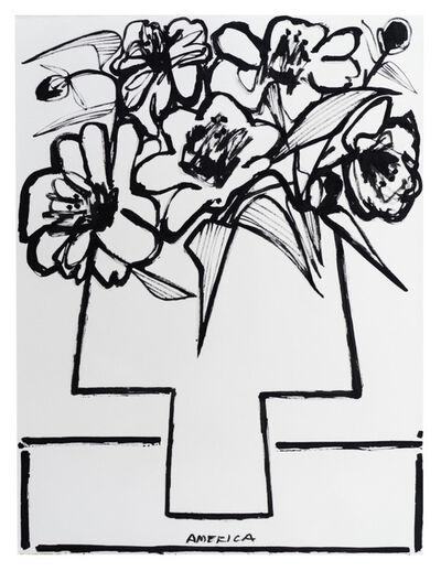America Martin, 'Peonies in Vase', 2019