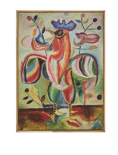 Shakir Hassan Al Said, 'The Articulate Cockerel', 1954