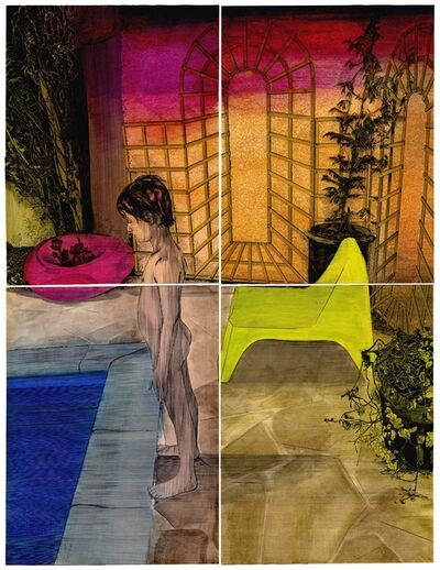 Frédéric Poincelet, 'David Hockney', 2017