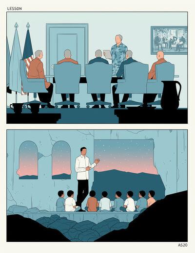 Anuj Shrestha, 'Lesson', 2020