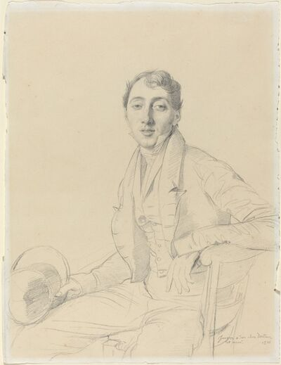 Jean-Auguste-Dominique Ingres, 'Dr. Louis Martinet', 1826