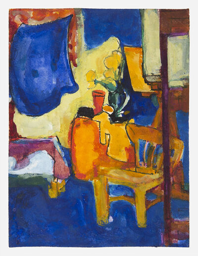 Hans Hofmann, 'Chair with Flowers', 1936