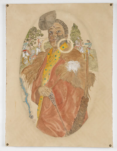 Umar Rashid (Frohawk Two Feathers), 'L-Y-L-Y-T-E Bessie of the Sister's of the Red Wood.', 2016