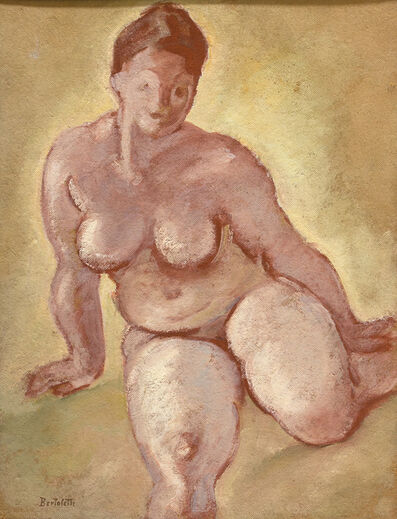 Nino Bertoletti, 'Nude', 1936