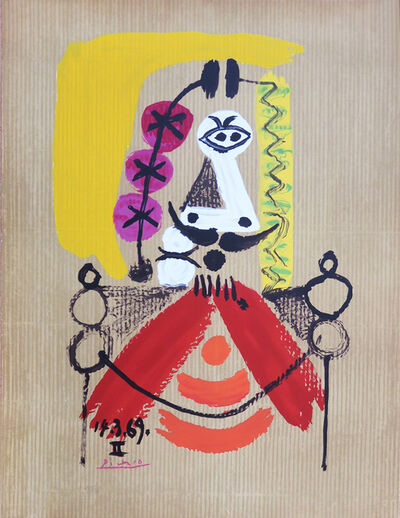 Pablo Picasso, '14.3.69 II Portraits Imaginaires', 1969