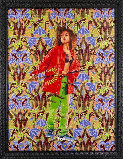 Kehinde Wiley, 'Portrait of Jesenia Pineda', 2020