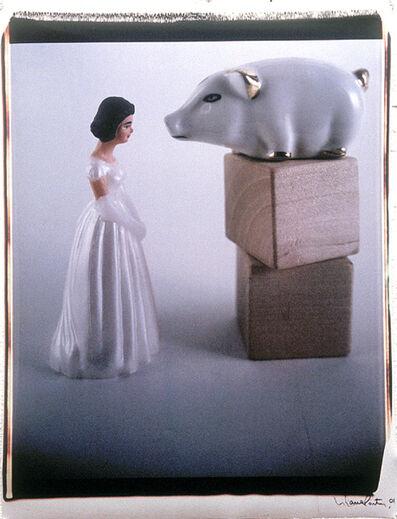 Liliana Porter, 'Dialogue with White Pig', 2001