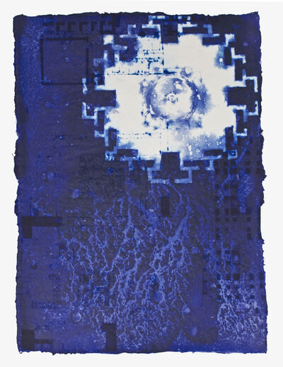 Arlene Shechet, 'Blue Stretch', 2000